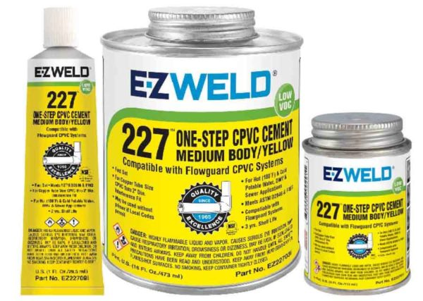 Buy World's Best CPVC Solvent Cement of E-ZWELD, USA